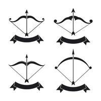 Archer logo images  illustration vector