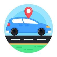Cab Location and Travelling vector
