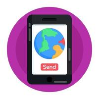 enviar ubicación geográfica vector
