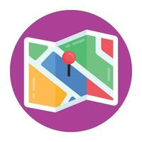 Map Pin and location vector