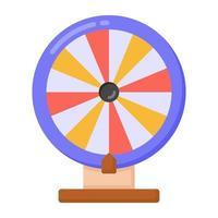 Spin Wheel and Gambling vector