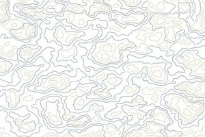 Topographic contour lines map pattern Abstract colorful design Free vector