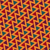Triangles pattern, abstract background free vector