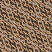 Hexagonal Japanese Abstract Pattern Free Vector