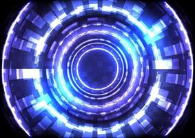 Abstract futuristic hi-tech background vector