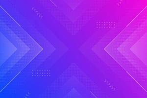 colorful abstract geometric trendy gradient background vector