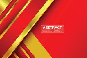 luxury red and golden vector gradient background, red abstract pattern