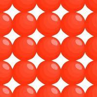 Illustration on theme big pattern identical types fish caviar vector