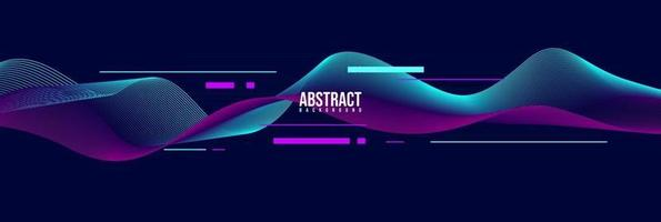 abstract movement  line shape, gradient color. vector design template