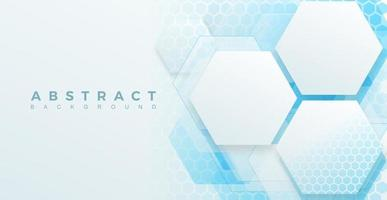abstract background technology, hexagonal shape Vector illustration