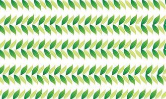 green leaf decoration banner background vector