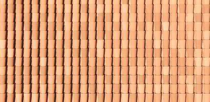 Tile roofs pattern photo