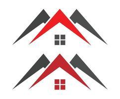 logo de construcción de propiedad inmobiliaria logo de edificios de viviendas vector gratis