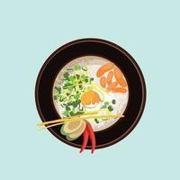 thai food traditional restaurant icon vector ilustration