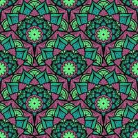 mandala de patrones sin fisuras vector