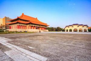 View of Taiwan National Theater hall building photo