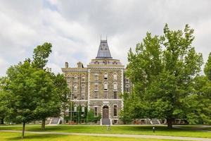 Exterior view of McGraw Hall of Cornell University at Ithaca, New York photo