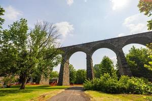 el viaducto de starrucca en pensilvania foto