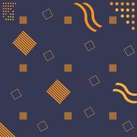 memphis pattern background geometric vector