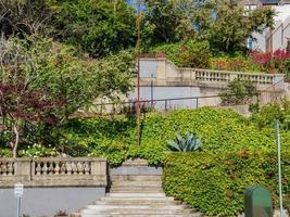 Entrance of the Ina Coolbrith Parkin San Francisco, California, USA photo