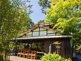 The Japanese Tea Garden in Golden Gate Park, San Francisco, California, USA photo