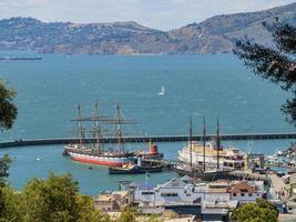 The San Francisco Bay at San Francisco, California, USA photo