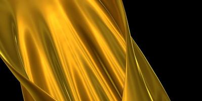 Golden ornate cloth gold leaf crumpled gold surface photo