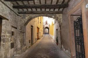 architecture of the village of San Gemini photo
