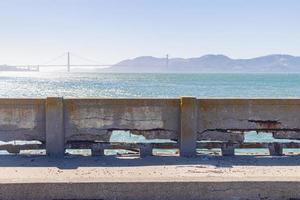 The Aquatic Park Cove in San Francisco, California, USA photo