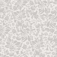 Scandinavian flower nature motif seamless repeat pattern vector