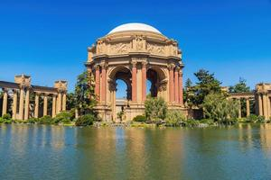 The Palace of Fine Arts in San Francisco, California photo