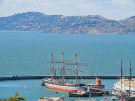 El muelle municipal de San Francisco, California, EE. foto