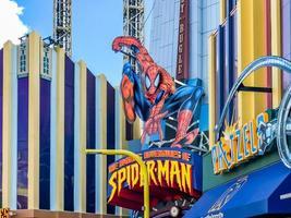 Orlando, FL, USA, Jan 05, 2017 - Entrance of The Amazing Adventures of Spiderman photo