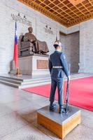 taipei, taiwán, 29 de abril de 2017 - chiang-kai shek memorial hall foto