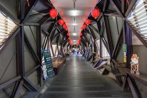 houtong, taiwán, 30 de abril de 2017 - estación de tren de la administración ferroviaria de taiwán foto