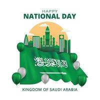 Saudi Arabia National Day vector