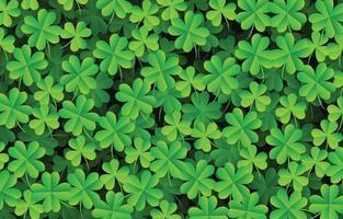 Clover Leaves Background vector