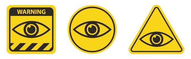 Eye Icon Symbol Sign Isolate On white Background vector