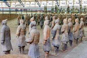 Shaanxi Province, China, 2021 - The Terracotta Army in Xian photo