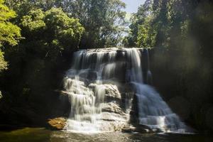 Seven falls waterfall in Serra da Bocaina in Sao Paulo. photo