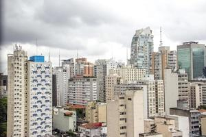 Buildings of the city center of Sao Paulo photo