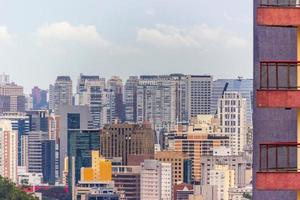 Buildings in the center of Sao Paulo, Brazil photo
