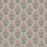 flower illustration motif seamless repeat pattern vector