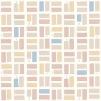 vector pincel comprobar motivo patrón de repetición perfecta fondo rosa