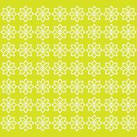 Seamless pattern leaf green vector image