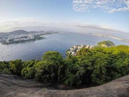View from Urca hill in Rio de Janeiro, Brazil photo