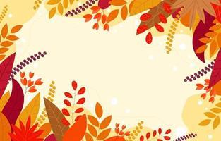 Floral Autumn Decoration vector