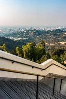 Famoso observatorio Griffith en Los Ángeles, California foto