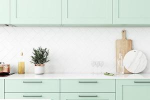Kitchen frame mockup photo