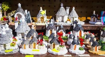 ALBEROBELLO, ITALY - Trulli di Alberobello souvenirs for tourists photo